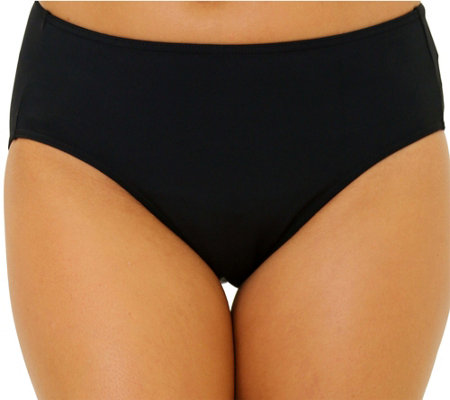 Fit 4 U Tummy Solid Brief Bottom