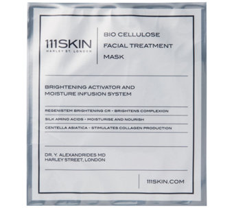 111 SKIN Bio Cellulose Facial Treatment Mask Box of 5 - A341113