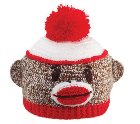 San Diego Hat Co. Kid's Sock Monkey Beanie