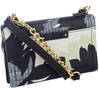 Emma & Sophia Printed Leather Crosby Phone/Wallet Crossbody Bag - A256314