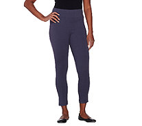 LOGO Layers by Lori Goldstein Petite Pull-On Knit Capri Pants - A262514