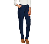 "Denim & Co. ""How Modern"" Regular Denim Slim Leg Jeans - A267614"