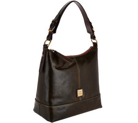 Dooney & Bourke Toledo Leather Sophie Hobo