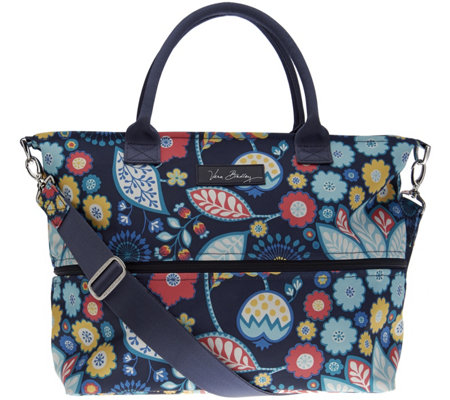Vera Bradley Lighten Up Expandable Shopper