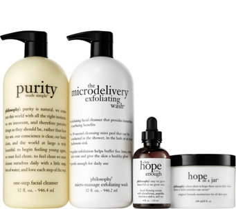 philosophy 4-piece iconic skincare collection - A279714