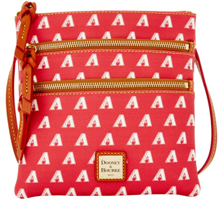 Dooney & Bourke MLB Diamondbacks Triple Zip Crossbody