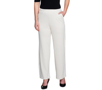 """As Is"" George Simonton Opulent Jersey Knit Pants - A281314"