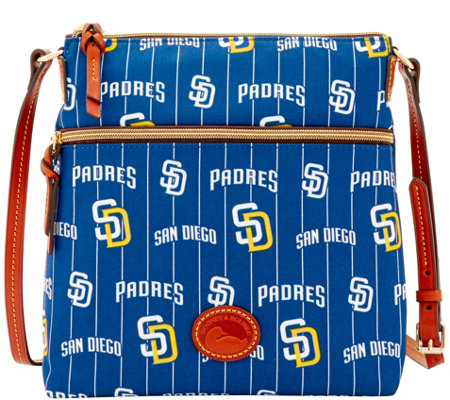 Dooney & Bourke MLB Nylon Padres Crossbody