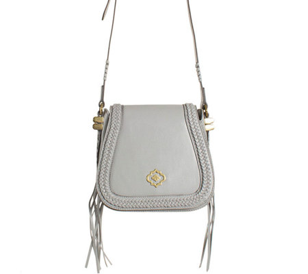 """As Is"" orYANY Pebbled Leather Crossbody Bag - Margaret"