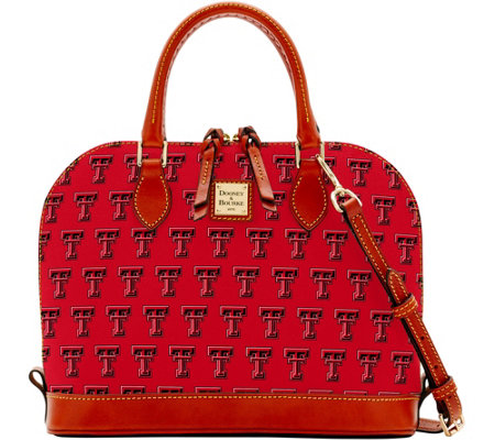Dooney & Bourke NCAA Texas Tech University Zip Zip Satchel