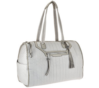 """As Is"" Aimee Kestenberg Nylon Quilted Weekender Bag - Jasame - A284714"