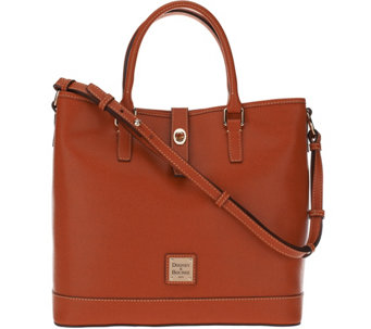 """As Is"" Dooney & Bourke Saffiano Leather Shelby Shopper - A291314"