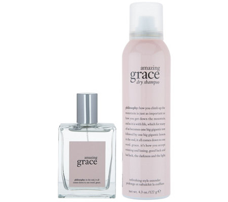 philosophy refresh with grace spray fragrance & dry shampoo duo