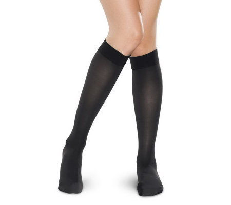 Preggers Knee-Highs with Light Gradient Compression