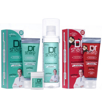 Dr. Sharp Oral Care Family Package - A355614