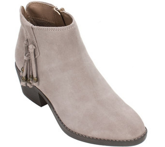 White Mountain Leather Booties - Havana - A356814