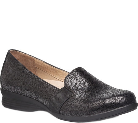 Dansko Leather Slip-on Flats - Addy