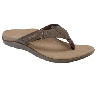Vionic Men's Orthotic Thong Sandals - Ryder - A90414