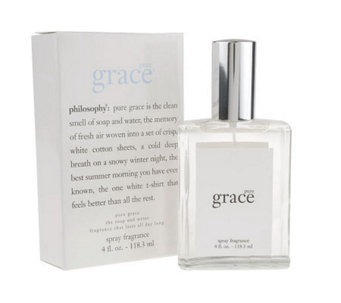 philosophy super-size pure grace spray fragrance 4 oz. - A12615