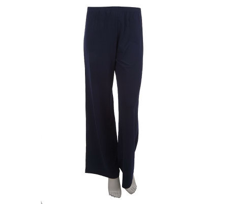 Linea by Louis Dell'Olio Pull-on Straight Leg Pants