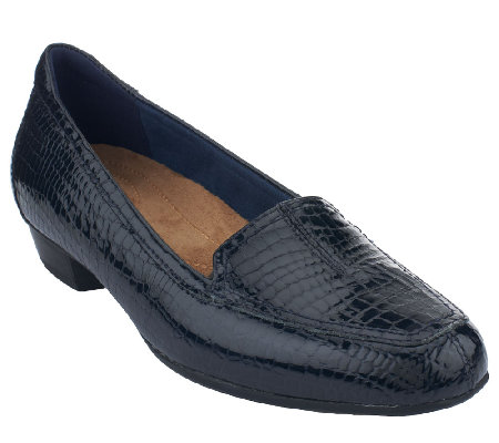 Clarks Artisan Everyday Patent Leather Slip-on Shoes - Timeless
