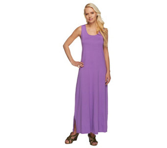 Liz Claiborne New York Essentials Petite Scoop Maxi Dress - A232615
