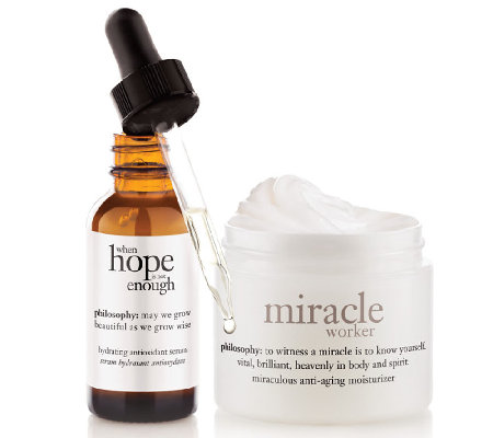 philosophy miraculous anti-aging skincare duo