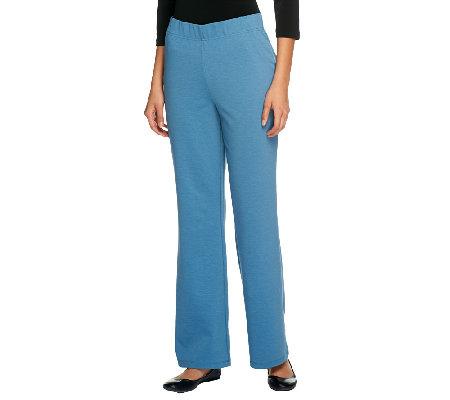 nike shox livestrong hommes - Women with Control Regular Ponte di Roma Knit Boot Cut Pants �� QVC.com