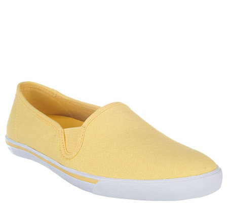 Liz Claiborne New York Slip-On Canvas Sneakers