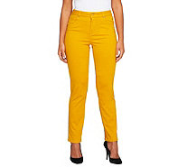 Isaac Mizrahi Live! Petite Icon Grace Straight Jeans - A255915