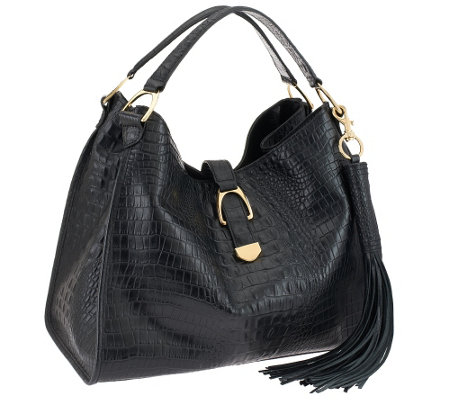 G.I.L.I. Stirrup Leather Hobo Bag