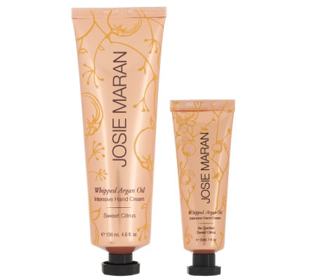 Josie Maran Argan Oil Hand Cream Duo