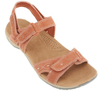 Earth Origins Suede Sandals w/ Removable Strap - Bianca - A262415