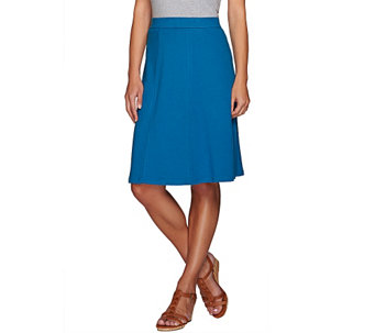 Liz Claiborne New York Essentials Knee Length Skirt - A264115