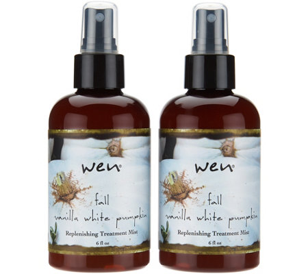 WEN by Chaz Dean Choice of Fall Treatment Mist 6 oz. Duo