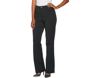 H by Halston Petite Studio Stretch 5 Pocket Boot Cut Pants - A280415