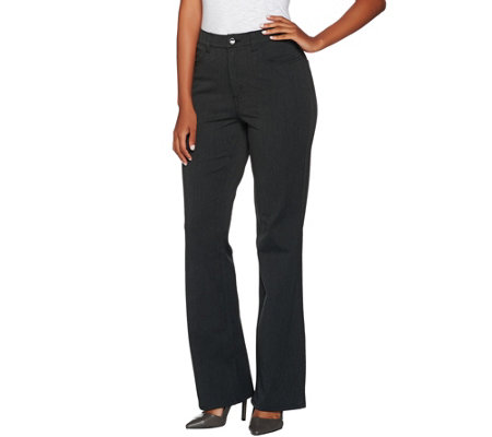 H by Halston Petite Studio Stretch 5 Pocket Boot Cut Pants