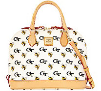 Dooney & Bourke NCAA Georgia Tech University Zip Zip Satchel - A283215