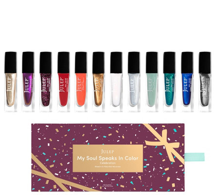 Julep My Soul Speaks In Color 12-pc Celebration Nail Collection