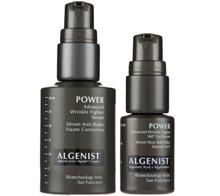 Algenist POWER Face and Eye Serum Duo