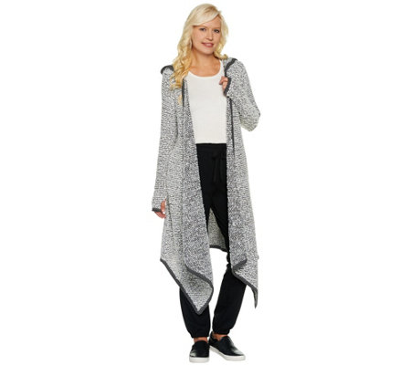 Peace Love World Sweater Knit Maxi Cardigan with Pockets - Page 1 ...