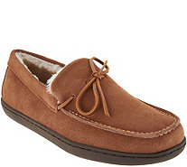 Vionic Orthotic Men's Suede Slippers - Adler - A301115