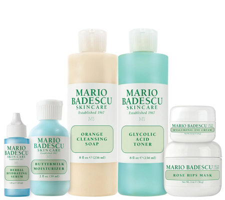 Martha Stewart & Mario Badescu Skin Care 40s 6-Piece Kit
