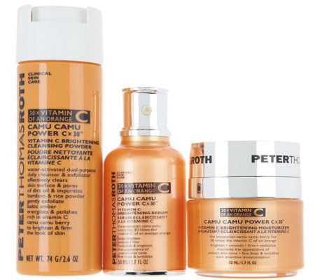 Peter Thomas Roth Camu Camu Brightening 3-Piece Set