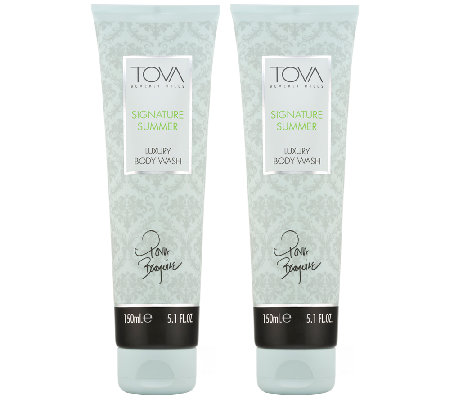 TOVA Signature Summer Body Wash Duo