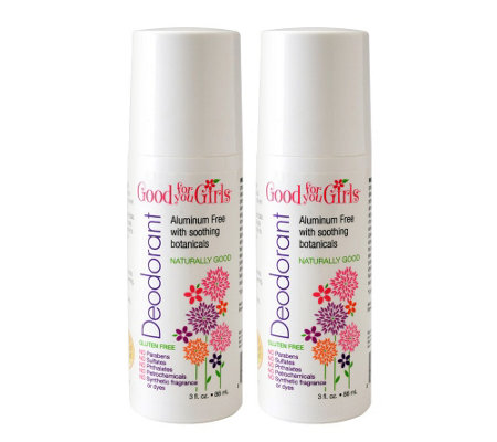 Good For You Girls Aluminum-Free Deodorant 2-Pack