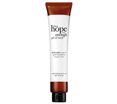 philosophy when hope is not enough mask, 2 oz