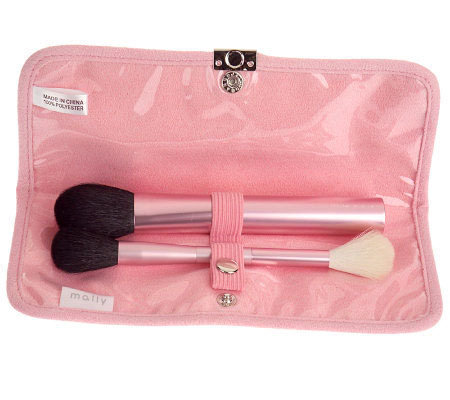Mally Beauty Paint the Town Shaping Brush Duo wravel Clutch