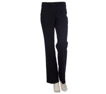 Kelly by Clinton Kelly Regular Fly Front Twill Pants - A214716