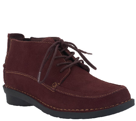 Clarks Leather Ankle Boots - Nikki Class
